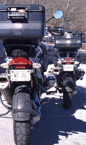 Our license plates
