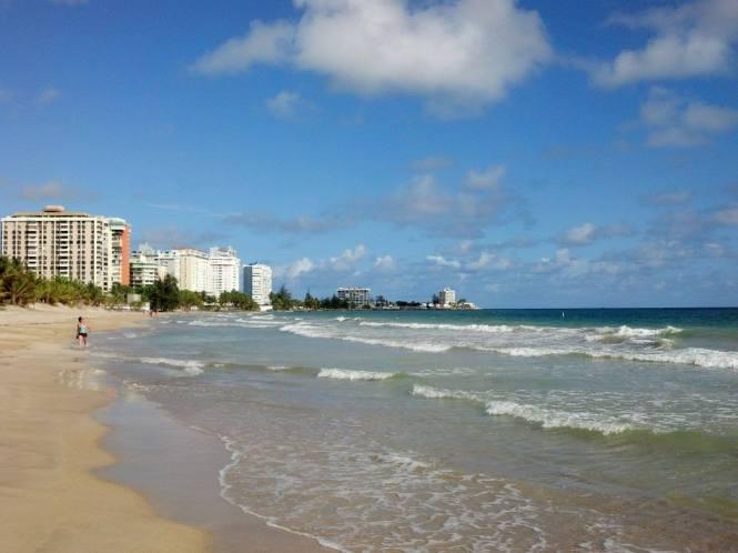 Daily beach walk