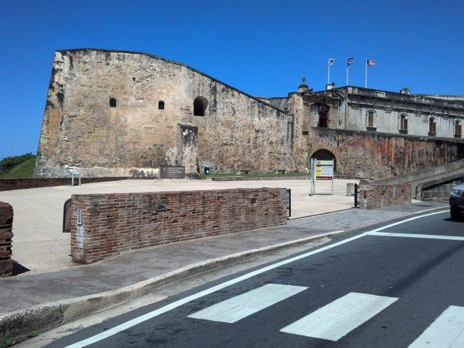 Exterior of Castillo de San Cristobal