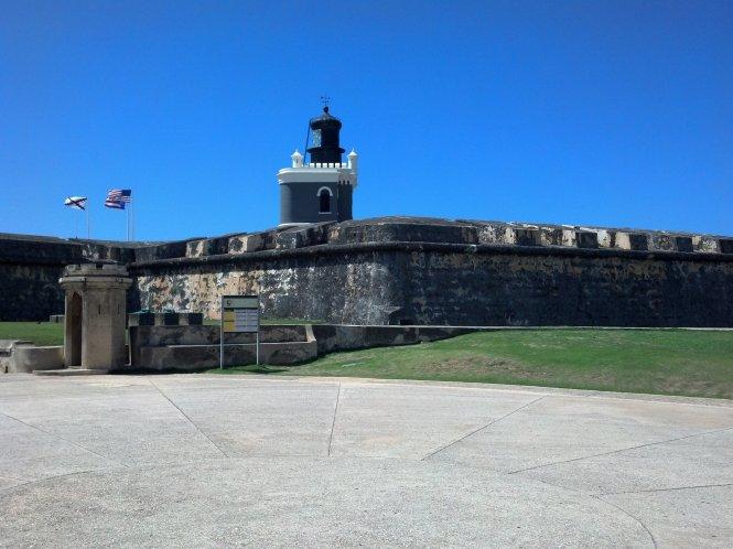 Entrance to Castillo San Felipe del Morro