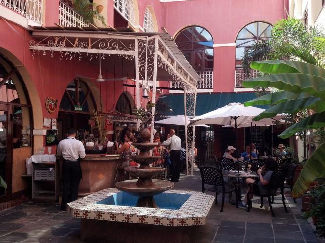 Barachina courtyard