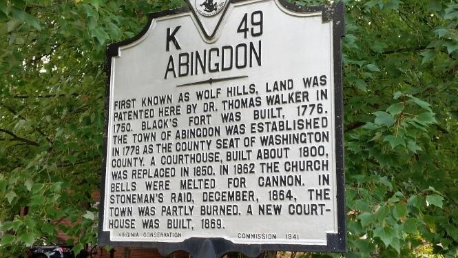 Abingdon history