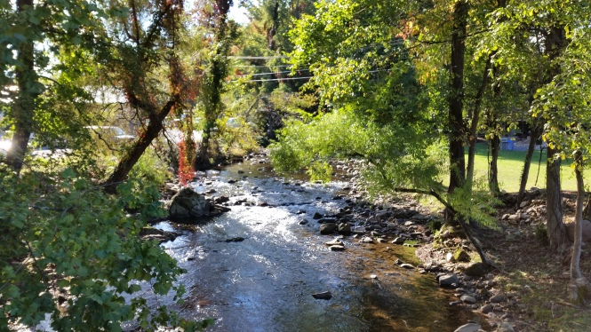Laurel Creek provides water recreation and beauty