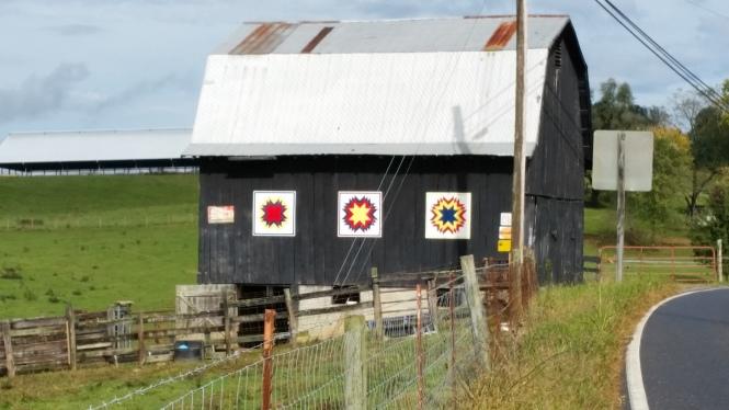 More Barn signs, VA 80, Meadowview, VA