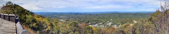 East River Mountain overlook, Rich Creek, VA