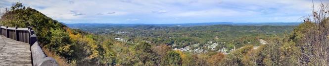 East River Mountain overlook, Rich Creek, VA