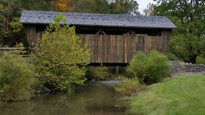 Indian Creek Covered Bridge near Union, WV