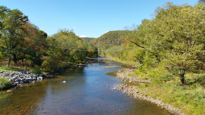 The Greenbrier River in Cass