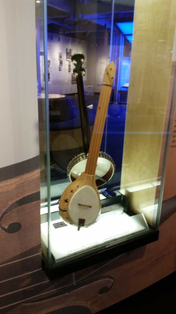 One of the gorgeous instruments in the Music center museum