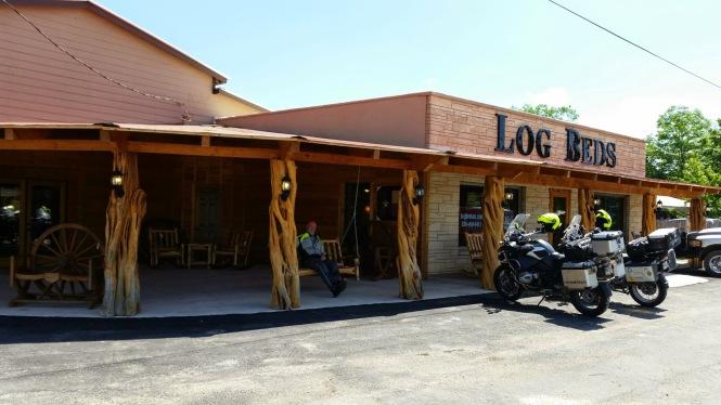 Log Beds storefront