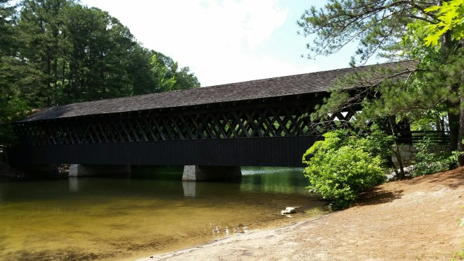 Covered Bridge in the park
