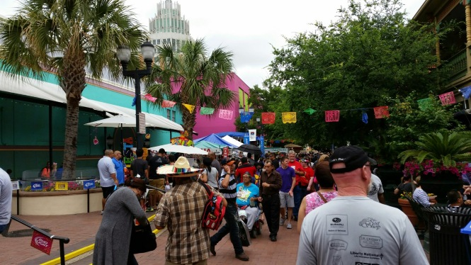 El Mercado hops 24x7 during Fiesta