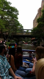 cruising through the historic area