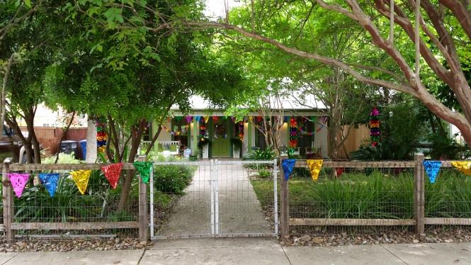 A festive bungalow