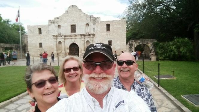 Alamo selfie!