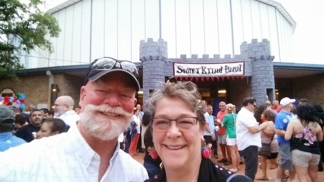 Commemorating where it all began 20 years ago...still in love at Sauerkraut Bend!