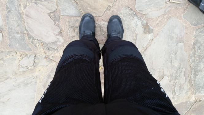 Armored pants and boots