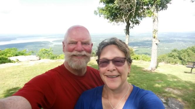Mount Nebo selfie