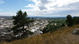 Looking toward downtown Billings