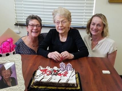 Mom's 90th birthday