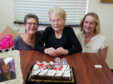 Mom's 90th birthday
