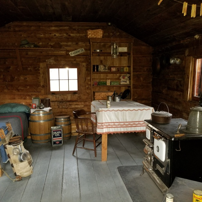 Inside the Savage Cabin