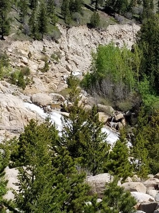 The Falls of the Roaring River