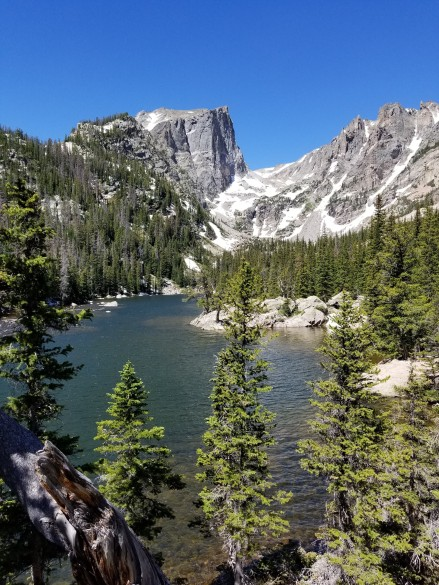 Looking west over Dream Lake