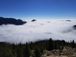 Horseshoe Park in the clouds