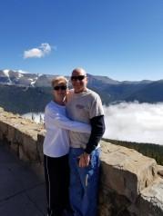 Pam and Eric enjoying the sunshine!